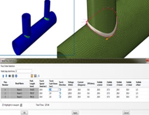 Enhanced Abaqus Welding Interface
